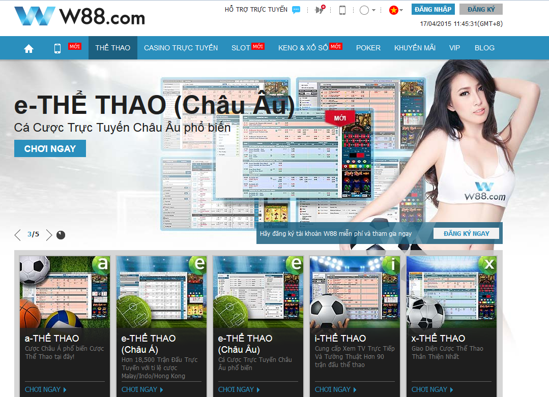 w88 the thao